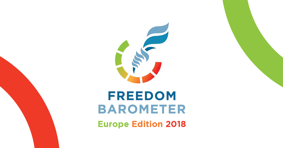 Freedom Barometer 2018 is now out!